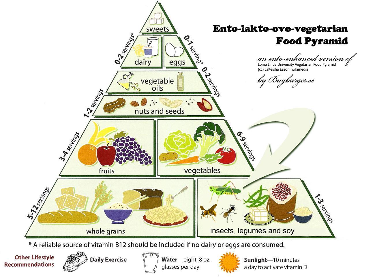 Ento-lacto-ovo-vegetarian