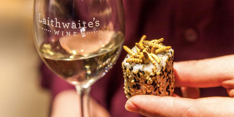 Laithwaits wine vet vilka viner som passar med vilka insekter.