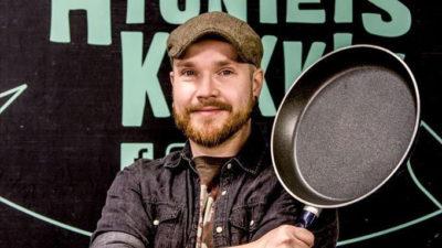 Finlands insect chef Topi Kairenus