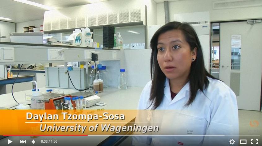 Daylan Tzompa-Sosa heter forskaren som gjorde upptäckten (Bild: skärmdump från Reuters intervju med Sosa)