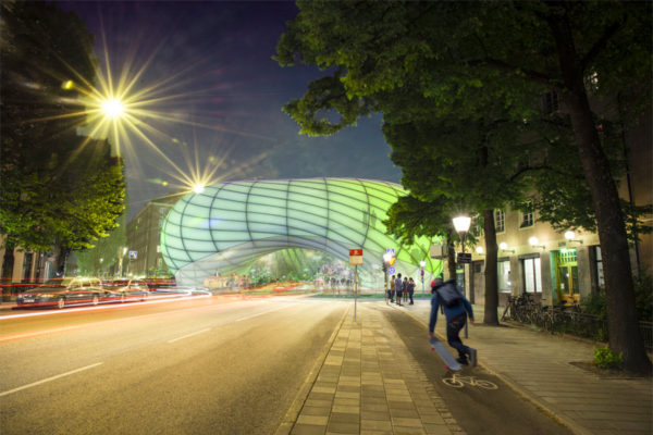 Buzzbuilding. Credit: Belatchev Arkitekter AB 2014
