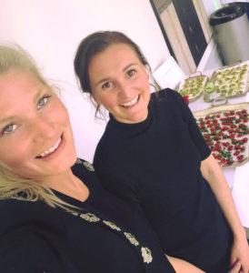 Ellen Gellerbrant och Emma Aspholmer från Hakuna Mat.