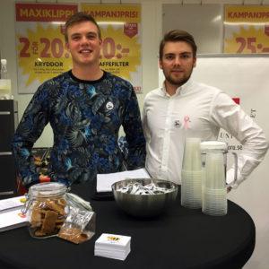 Carl Davidsson och Daniel Wessberger (Foto: BeeSnacks)