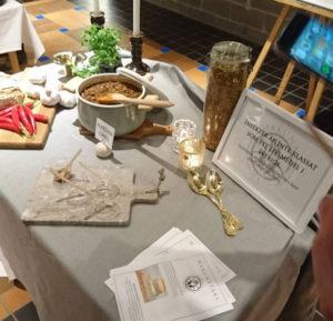 Besökarna fick lukta på Hakuna Mats chili, men inte äta den.