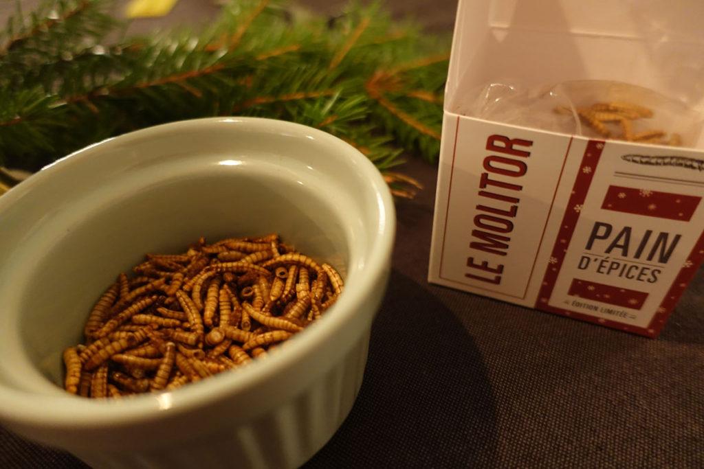 Mjölmaskar med pepparkakssmak