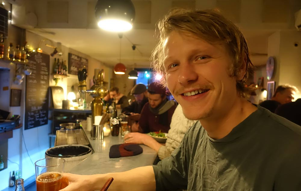 Lasse Hinrichsen, Enorm Food. (photo: Bugburger)