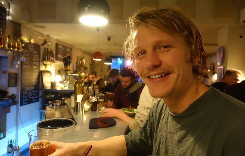 Lasse Hinrichsen, Enorm Food. (photo: Bugburger)